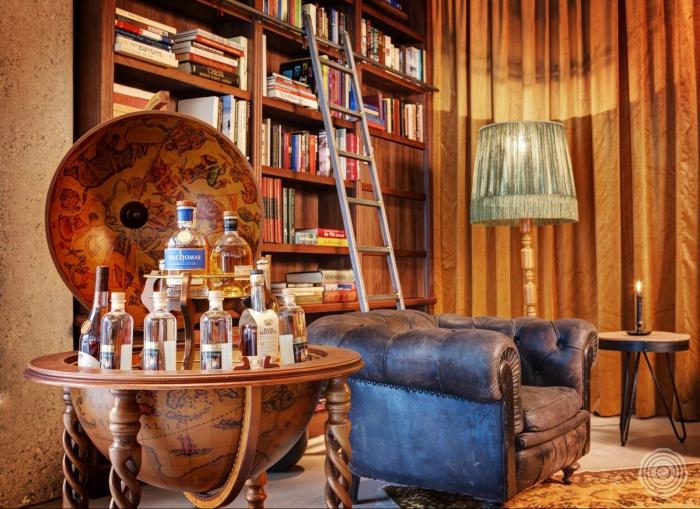 vintage al het meubilair is hand picked door de eigenaresse