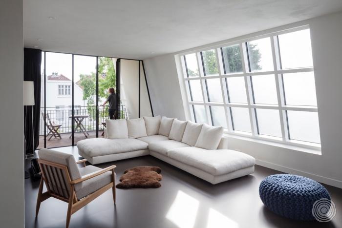 Rotterdamse Stadsvilla Woonkamer