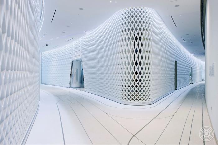 resin floor hotel