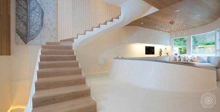 het interieur is volgens de modernste aziatische standaarden