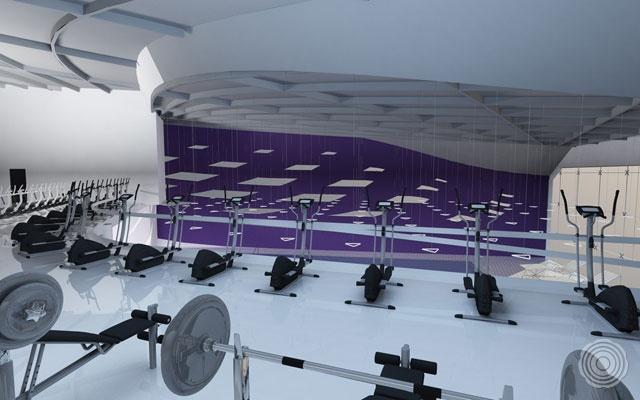 hypoallergeen en belastbaar voor fitness vloeren levert sens