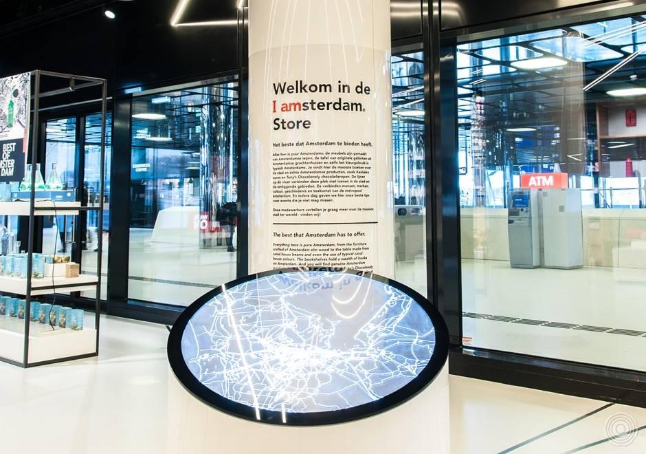 I Amsterdam Store met Sensovloer