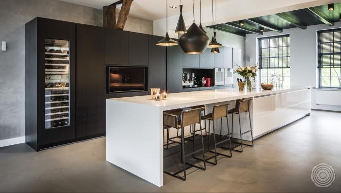 Gietvloer Betonlook Keuken : Gietvloer keuken naadloze gietvloeren voor keukens senso